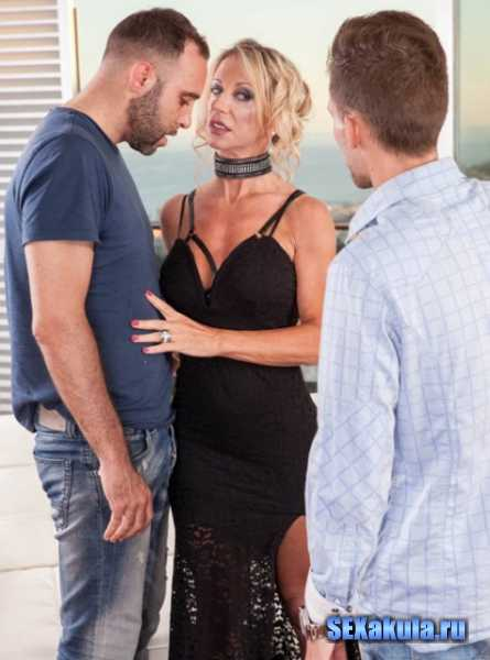Marina Beaulieu - MILF Enjoys Anal While Her Husband Watches (2017/FullHD)