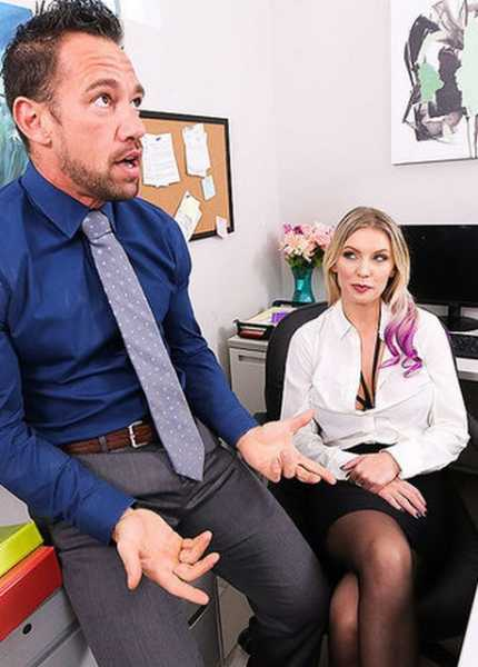Kenzie Taylor Gets Fucked In The Office (2018/FullHD + HD)